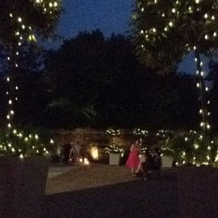 Outdoor lighting hire academy productions bucks berks outdoor fairy lights our commercial aloadofball Image collections