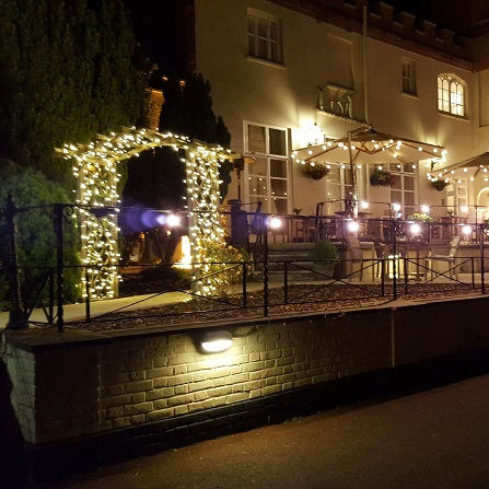 Outdoor Fairy Lights. Our commercial ... & Outdoor Lighting Hire | Academy Productions Bucks Berks
