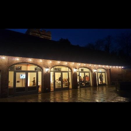Outdoor Festoon Lighting & Outdoor Lighting Hire | Academy Productions Bucks Berks