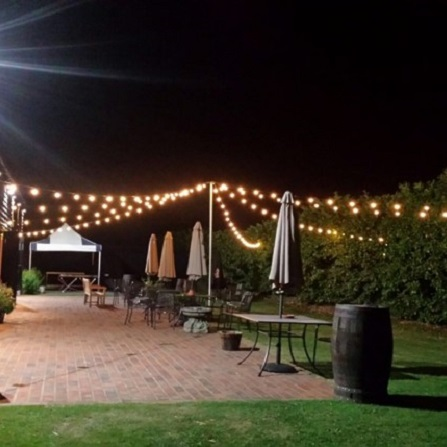Decorative Outdoor Lighting. Coach ... & Outdoor Lighting Hire for Weddings u0026 Events | Academy Productions
