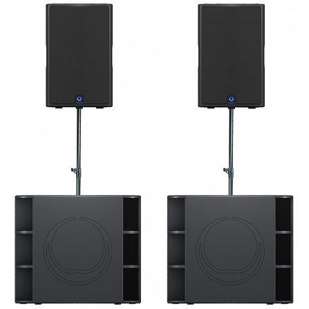 Turbosound Milan Active Pa Hire Packages Academy
