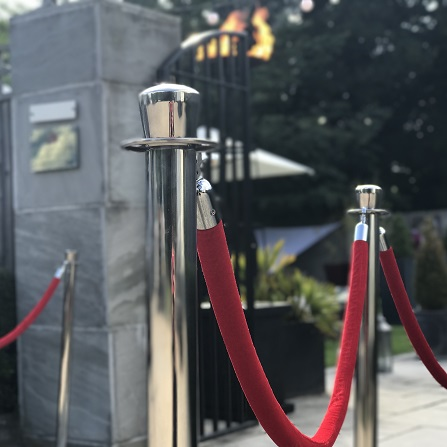 VIP Rope / Barrier Rope Hire | Academy Productions