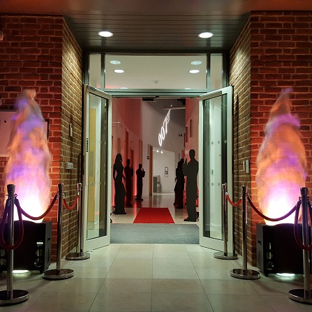 Flame Effects Hire For Weddings & Events | Academy Productions